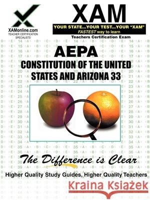 Aepa Constitutions of the United States and Arizona 33 Sharon Wynne 9781581977455