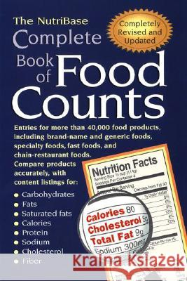 The Nutribase Complete Book of Food Counts 2nd Ed. Nutribase 9781583331071