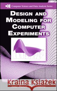 Design and Modeling for Computer Experiments Kai Tai Fang Kaitai Fang Li Runze 9781584885467