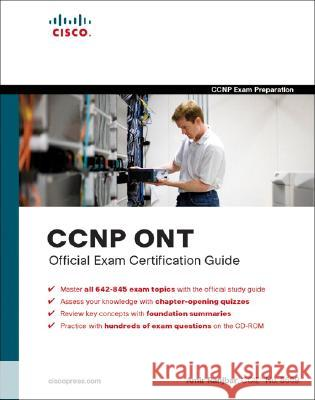 CCNP Ont Official Exam Certification Guide [With CDROM] Amir Ranjbar 9781587201769