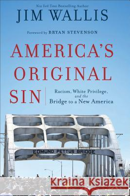 America's Original Sin: Racism, White Privilege, and the Bridge to a New America Wallis Jim                               Bryan Stevenson 9781587433429 Brazos Press
