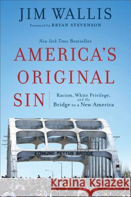 America's Original Sin: Racism, White Privilege, and the Bridge to a New America Jim Wallis Bryan Stevenson 9781587434006 Brazos Press