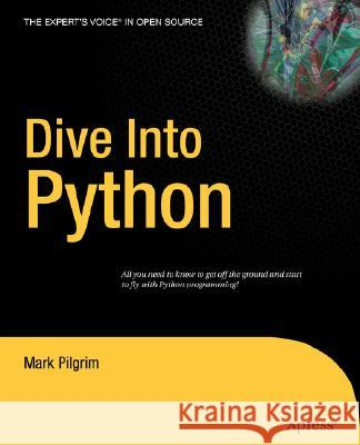Dive Into Python Mark Pilgrim 9781590593561