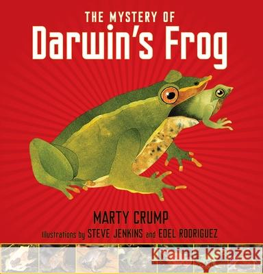 The Mystery of Darwin's Frog Marty Crump Steve Jenkins Edel Rodriguez 9781590788646 Boyds Mills Press