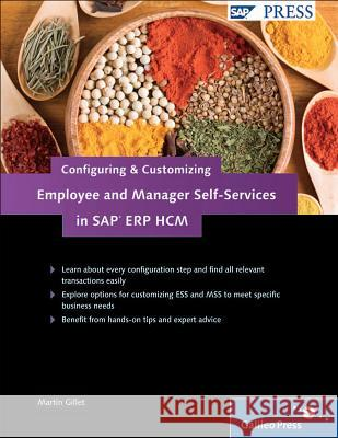 Configuring and Customizing Employee and Manager Self-Services in SAP ERP HCM Gillet, M 9781592293568