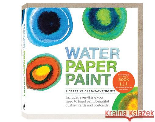 Water Paper Paint: A Creative Card-Painting Kit Heather Smith Jones 9781592538911