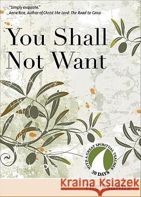 You Shall Not Want The Psalms                               Richard Chilson John Kirvan 9781594711565