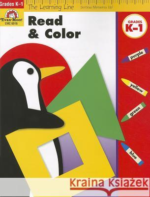 Read & Color Evan-Moor Educational Publishers   9781596731783