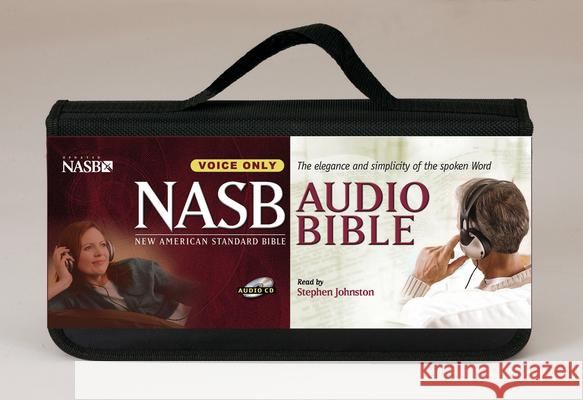Stephen Johnston Bible-NASB-Voice Only - audiobook Stephen Johnston 9781598561166