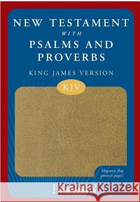 New Testament with Psalms and Proverbs-KJV-Magnetic Closure Hendrickson Publishers 9781598562453
