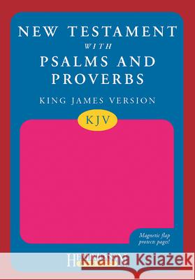 New Testament with Psalms and Proverbs-KJV-Magnetic Flap N/A 9781598563306