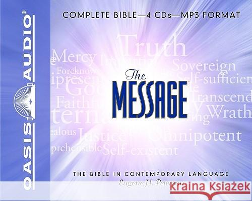 Message Bible-MS - audiobook Eugene H. Petersen Kelly Ryan Dolan 9781598594560