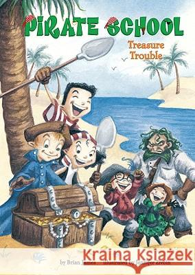 Treasure Trouble: #5 Brian James Jennifer Zivoin 9781599615868