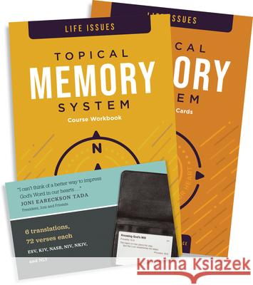 Topical Memory System Life Issues: Hide God's Word in Your Heart The Navigators 9781600066719