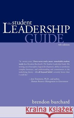 The Student Leadership Guide Brendon Burchard 9781600374920