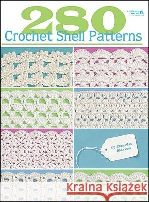 280 Crochet Shell Patterns Darla Sims 9781601402066