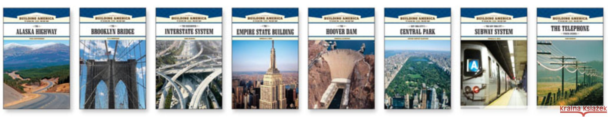 Building America: Then and Now Set Various 9781604136012