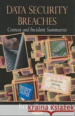 Data Security Breaches: Context and Incident Summaries Rita Tehan 9781604565065