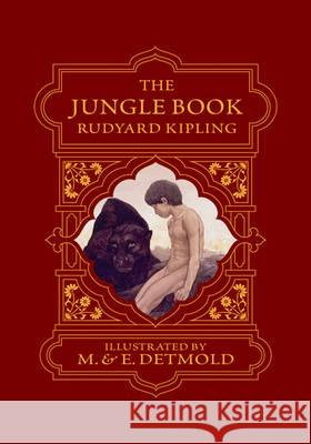 The Jungle Book Rudyard Kipling Edward J. Detmold Maurice Detmold 9781606600092