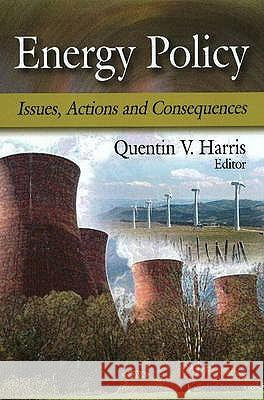 Energy Policy : Issues, Actions & Consequences  9781606922255