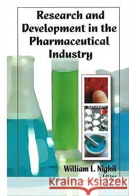 Research & Development in the Pharmaceutical Industry  9781606929711