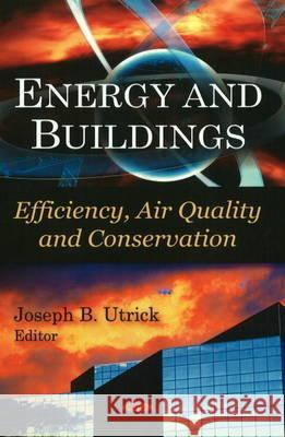 Energy & Buildings : Efficiency, Air Quality, & Conservation  9781607410492