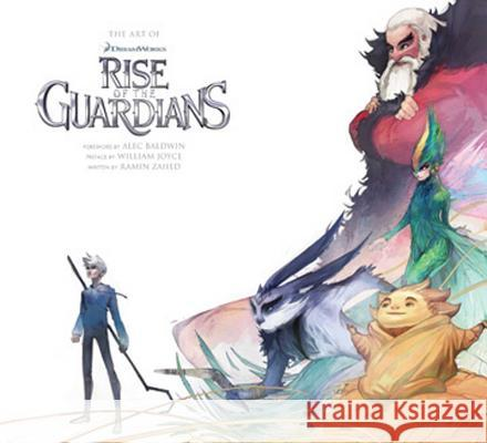 Art of Rise of the Guardians Ramin Zahed Alec Baldwin William Joyce 9781608871087