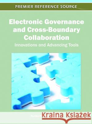 Electronic Governance and Cross-Boundary Collaboration: Innovations and Advancing Tools Yu-Che Chen Pin-Yu Chu 9781609607531