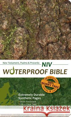 Waterproof New Testament Psalms and Proverbs-NIV Bardin & Marsee Publishing 9781609690007