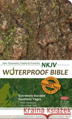 Waterproof New Testament Psalms and Proverbs-NKJV Bardin & Marsee Publishing 9781609690021 Bardin & Marsee Pub