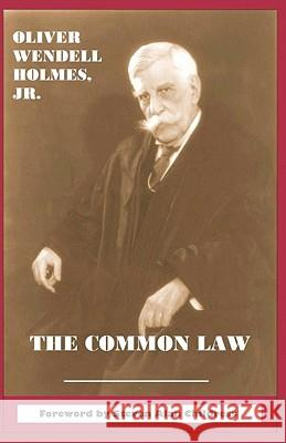 The Common Law Oliver Wendell, Jr. Holmes Steven Alan Childress Steven Alan Childress 9781610270007