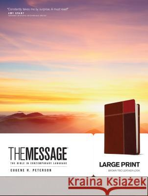 Message-MS-Large Print Numbered: The Bible in Contemporary Language Eugene H. Peterson 9781612914879