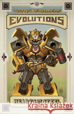 Transformers  Evolutions - Hearts Of Steel Chuck Dixon Guido Guidi  9781613771709 Idea & Design Works