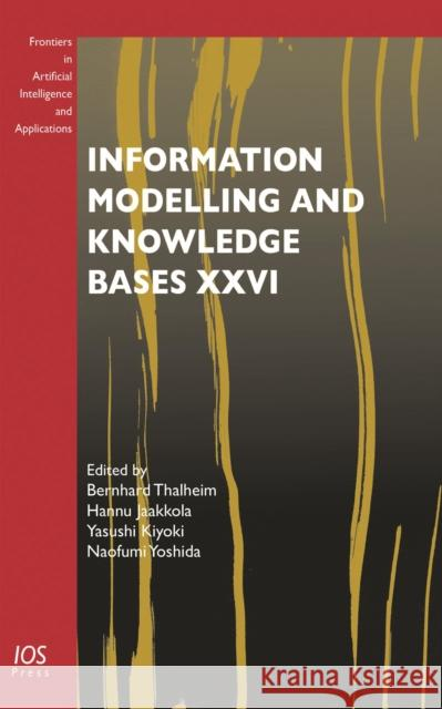 INFORMATION MODELLING & KNOWLEDGE BASES  THALHEIM, B. 9781614994718