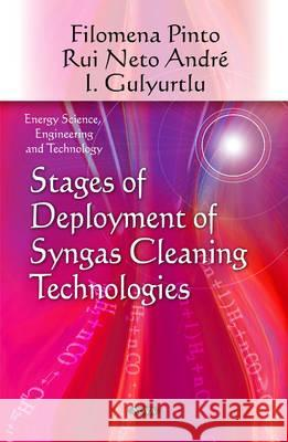 Stages of Deployment of Syngas Cleaning Technologies  9781616682576