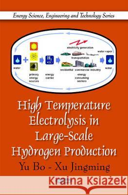 High Temperature Electrolysis in Large-Scale Hydrogen Production Bo, Yu|||Jingming, Xu 9781616682972