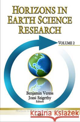 Horizons in Earth Science Research   9781616687090