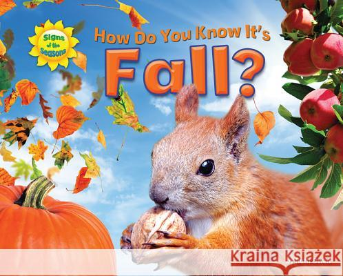 How Do You Know It's Fall? Ruth Owen   9781617723964 Bearport Publishing