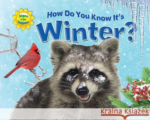 How Do You Know It's Winter? Ruth Owen   9781617723971 Bearport Publishing