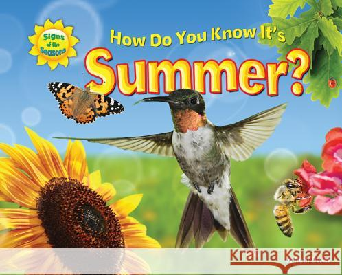 How Do You Know It's Summer? Ruth Owen   9781617723995 Bearport Publishing