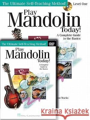 Play Mandolin Today! Level One Package [With DVD] Doug Baldwin 9781617742460