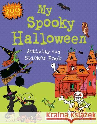 My Spooky Halloween Activity and Sticker Book Anonymous 9781619633322