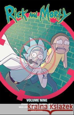 Rick and Morty Vol. 9 Kyle Starks Tini Howard Marc Ellerby 9781620106419 Oni Press