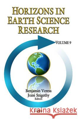 Horizons in Earth Science Research Volume 9  9781622579549