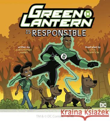 Green Lantern Is Responsible Christopher Harbo 9781623709532