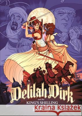 Delilah Dirk and the King's Shilling Tony Cliff 9781626721555 First Second