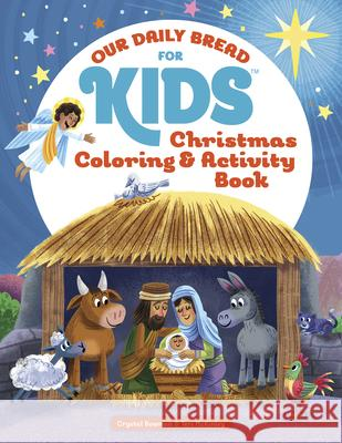 Christmas Coloring and Activity Book Crystal Bowman Teri McKinley Luke Flowers 9781627078917