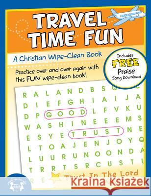 Travel Time Fun Christian Wipe-Clean Workbook Twin Sisters Productions 9781630588274