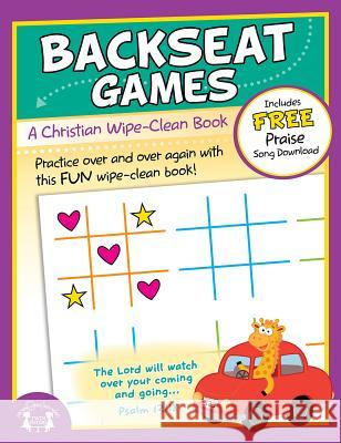 Backseat Games Christian Wipe-Clean Workbook Twin Sisters Productions 9781630588281