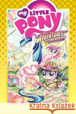 My Little Pony: Adventures in Friendship Volume 5 Thom Zahler Rob Anderson Jeremy Whitley 9781631406102